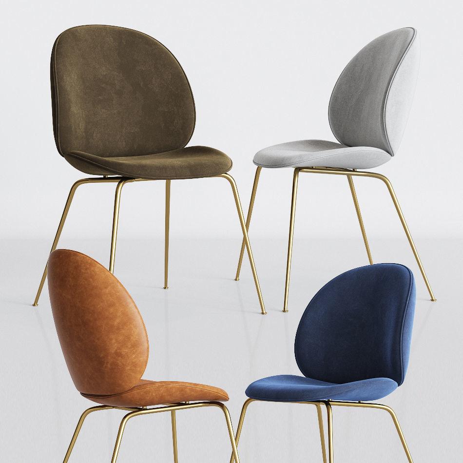 Gubi Beetle Dinning Chair