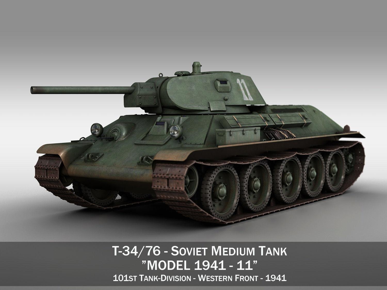 T-34-76 - Model 1941 -Soviet medium tank - 11