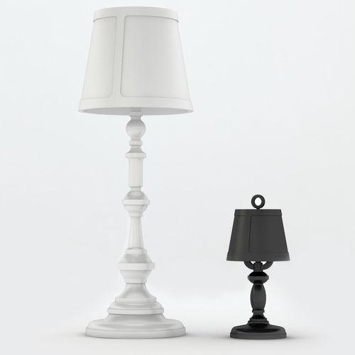 Floor lamp moooi 3d model max 3ds fbx for Moooi paper floor lamp replica