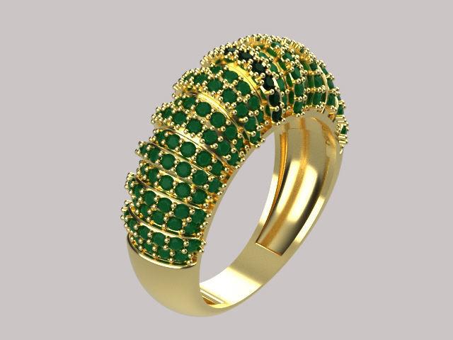 women ring diamond r00077