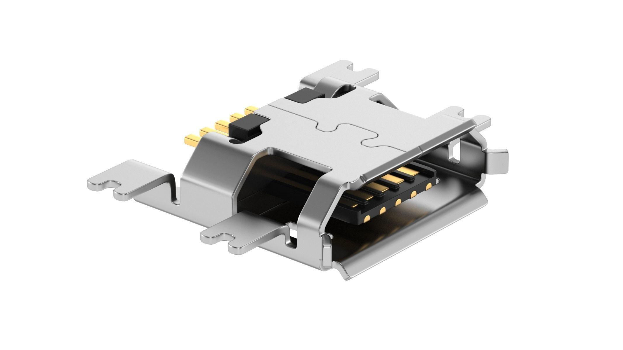 USB Micro B Female Module