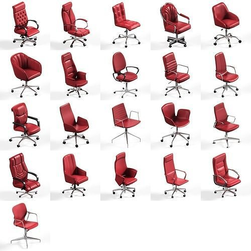 21 office chair pack collection