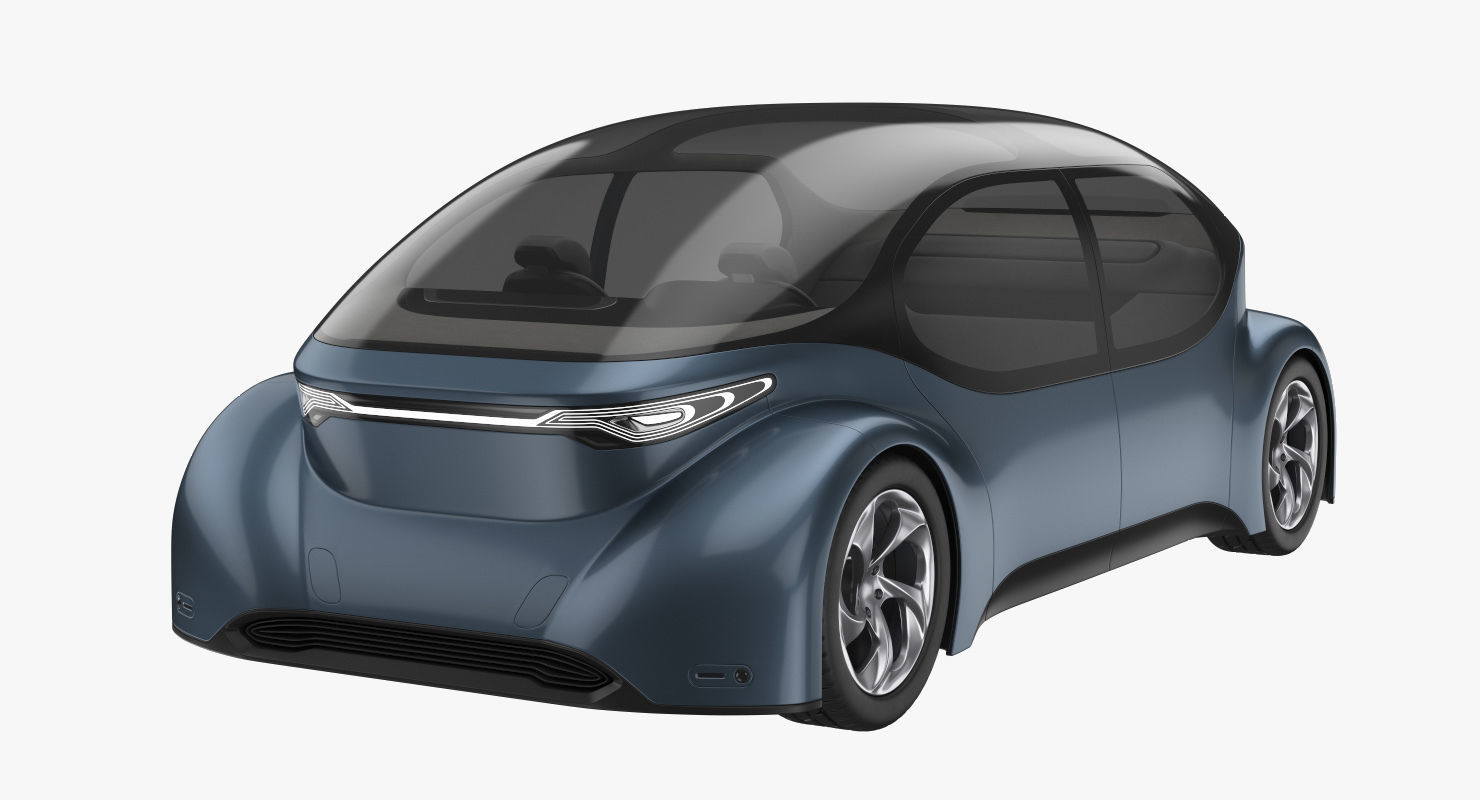 Self-Driving Car Concept