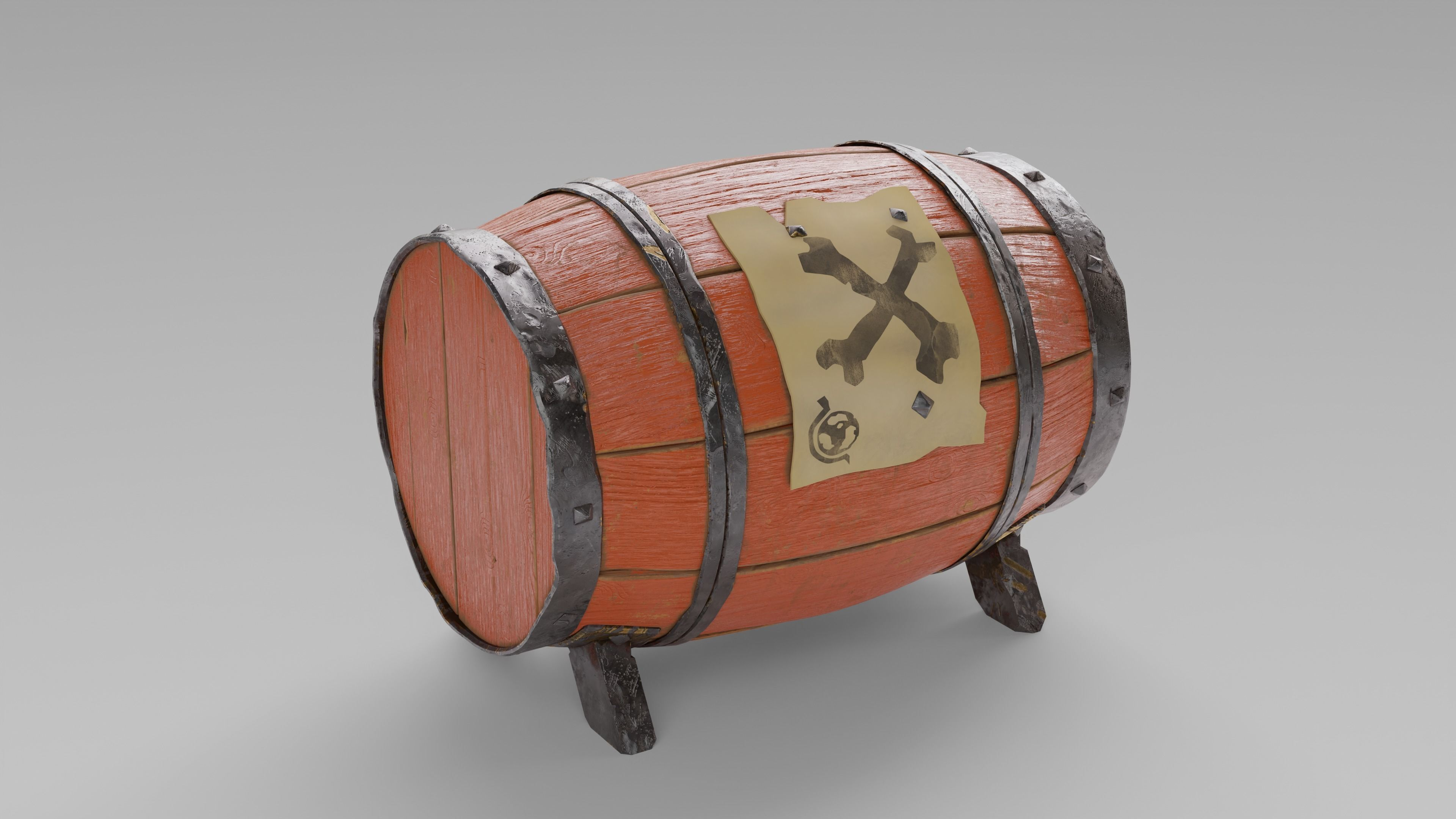 Gunpowder Barrel - The Sea of Thieves
