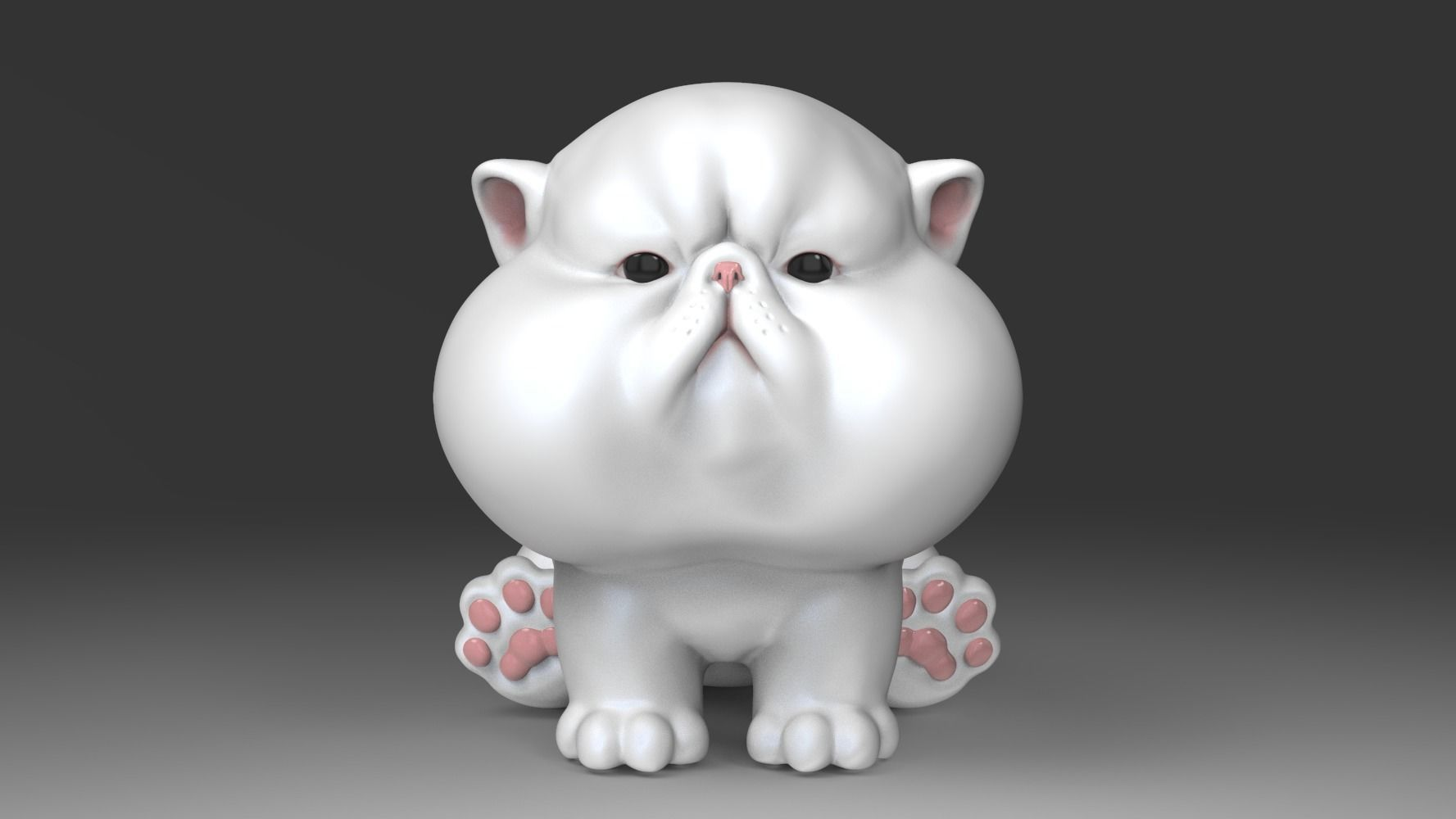 The Chubbiest Cheeks Cat