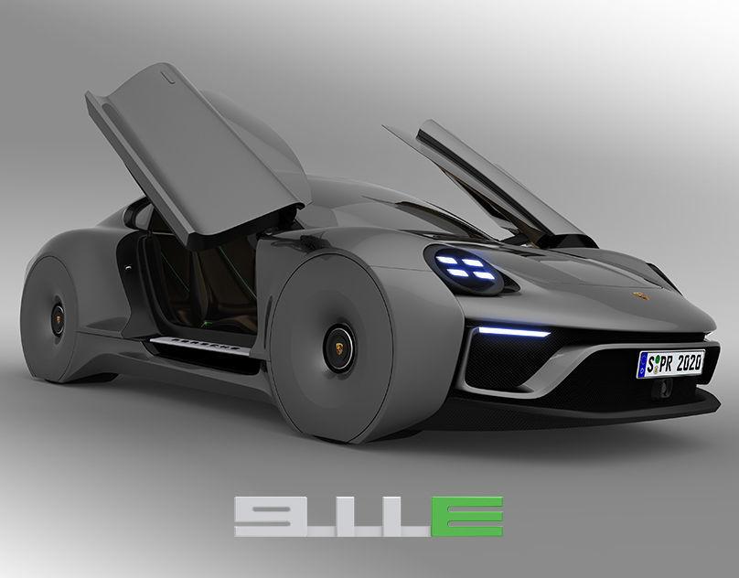 Porsche 911E concept by emrEHusmen
