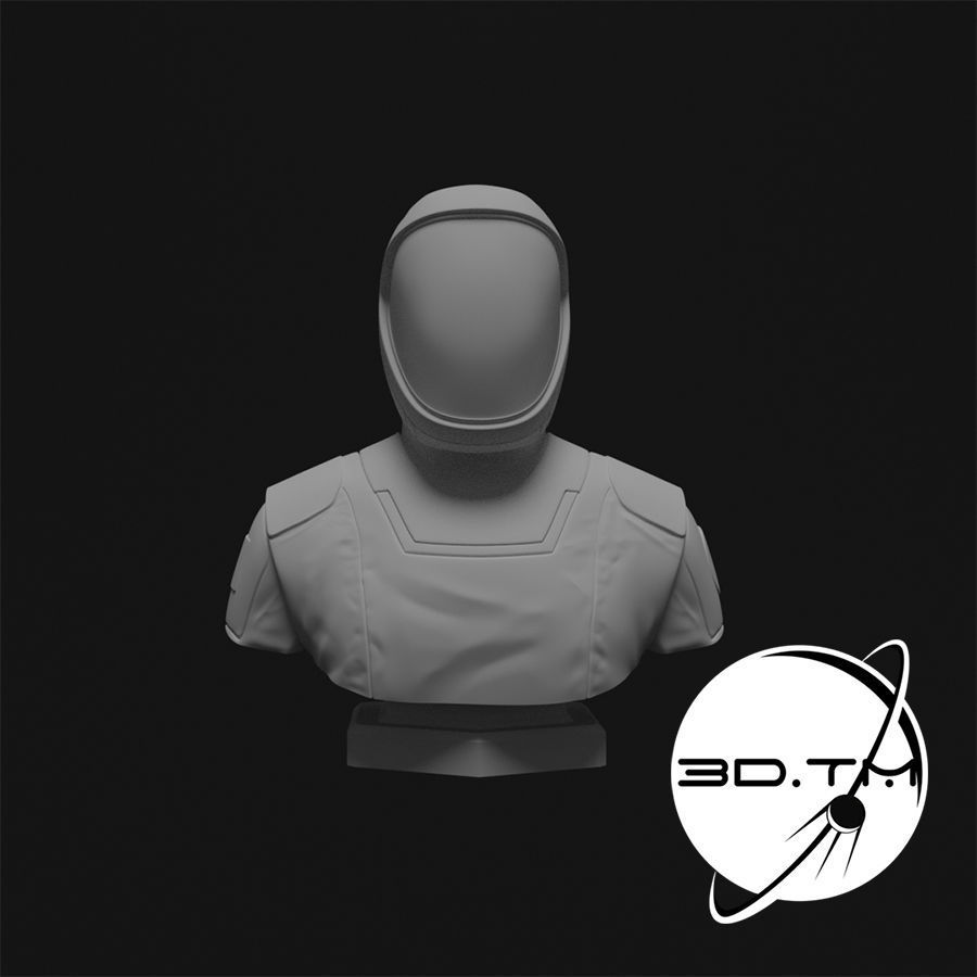Starman Bust - SpaceX Crew Bust