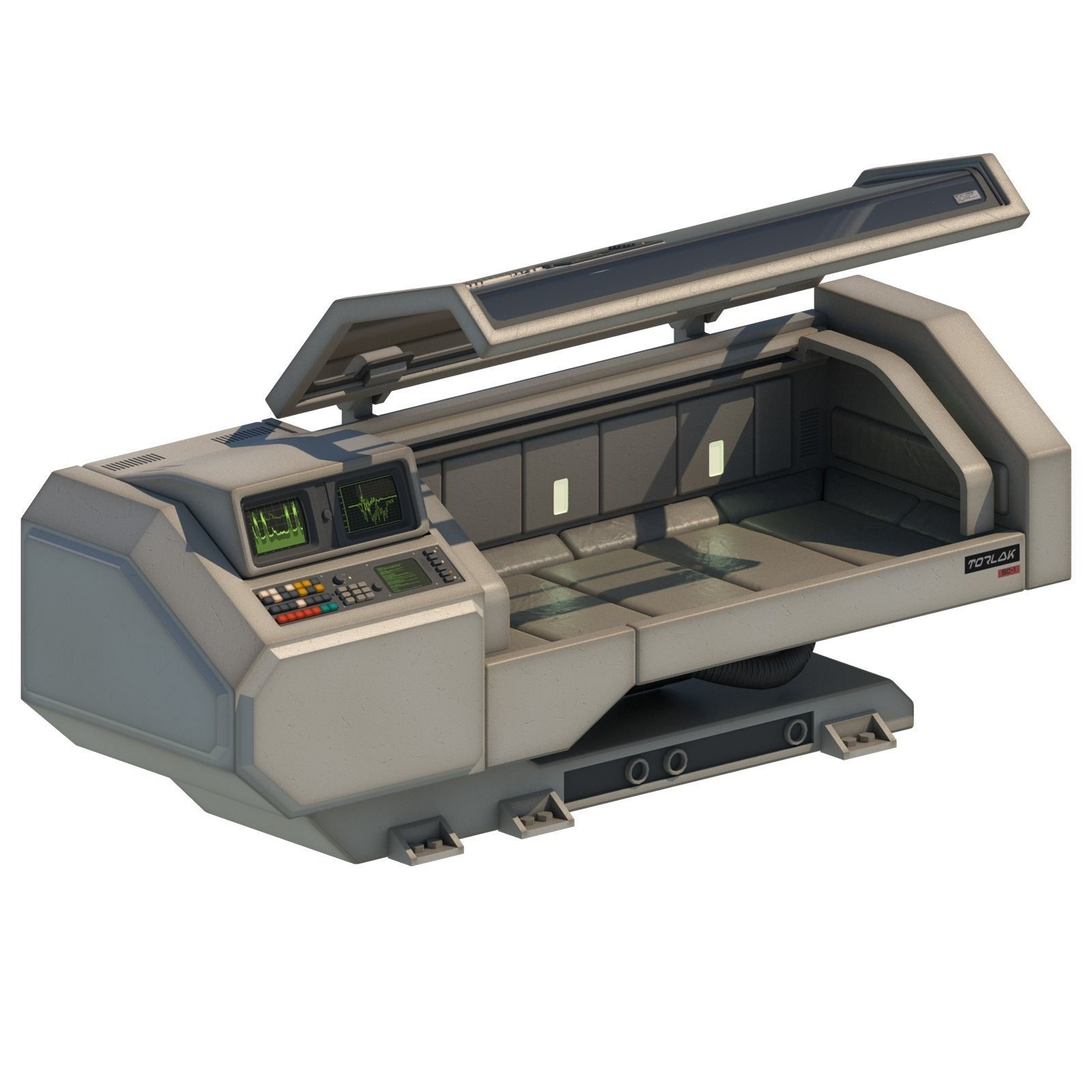Retro Sci-fi Healing Machine