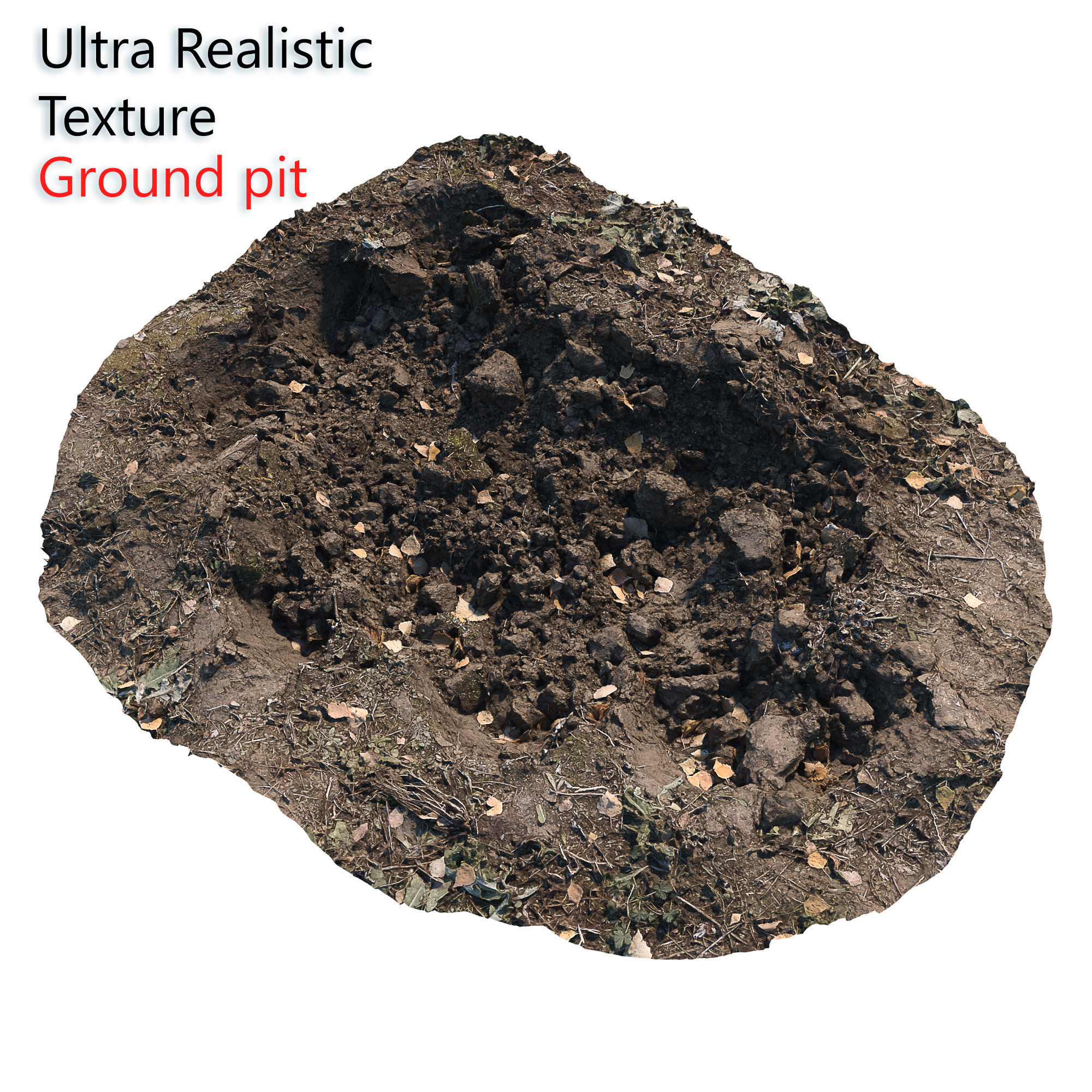 Ultra realistic Dirt pit Scan