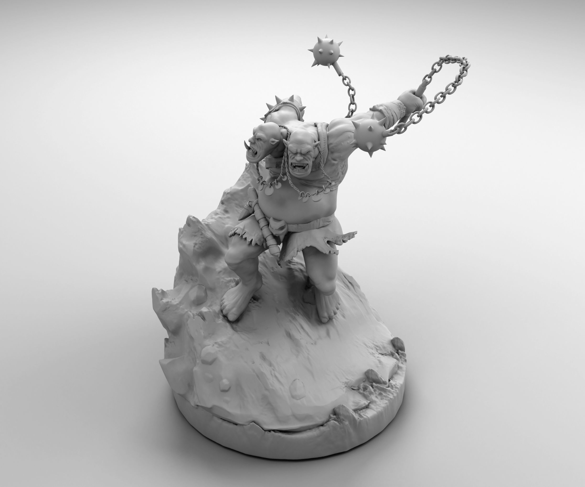 Ogre with a Mace