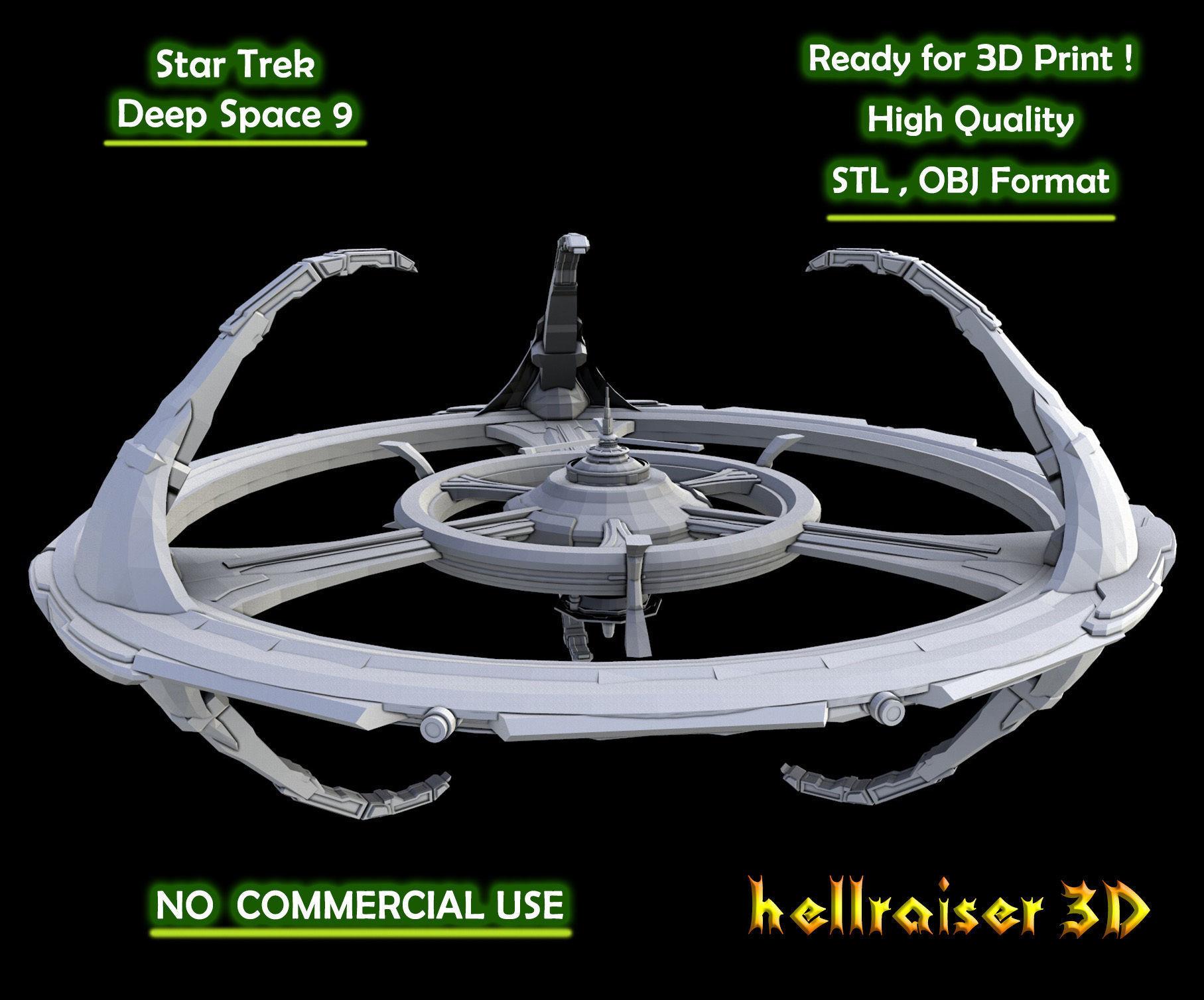 Star Trek - Deep Space 9 - 3D Printable Model