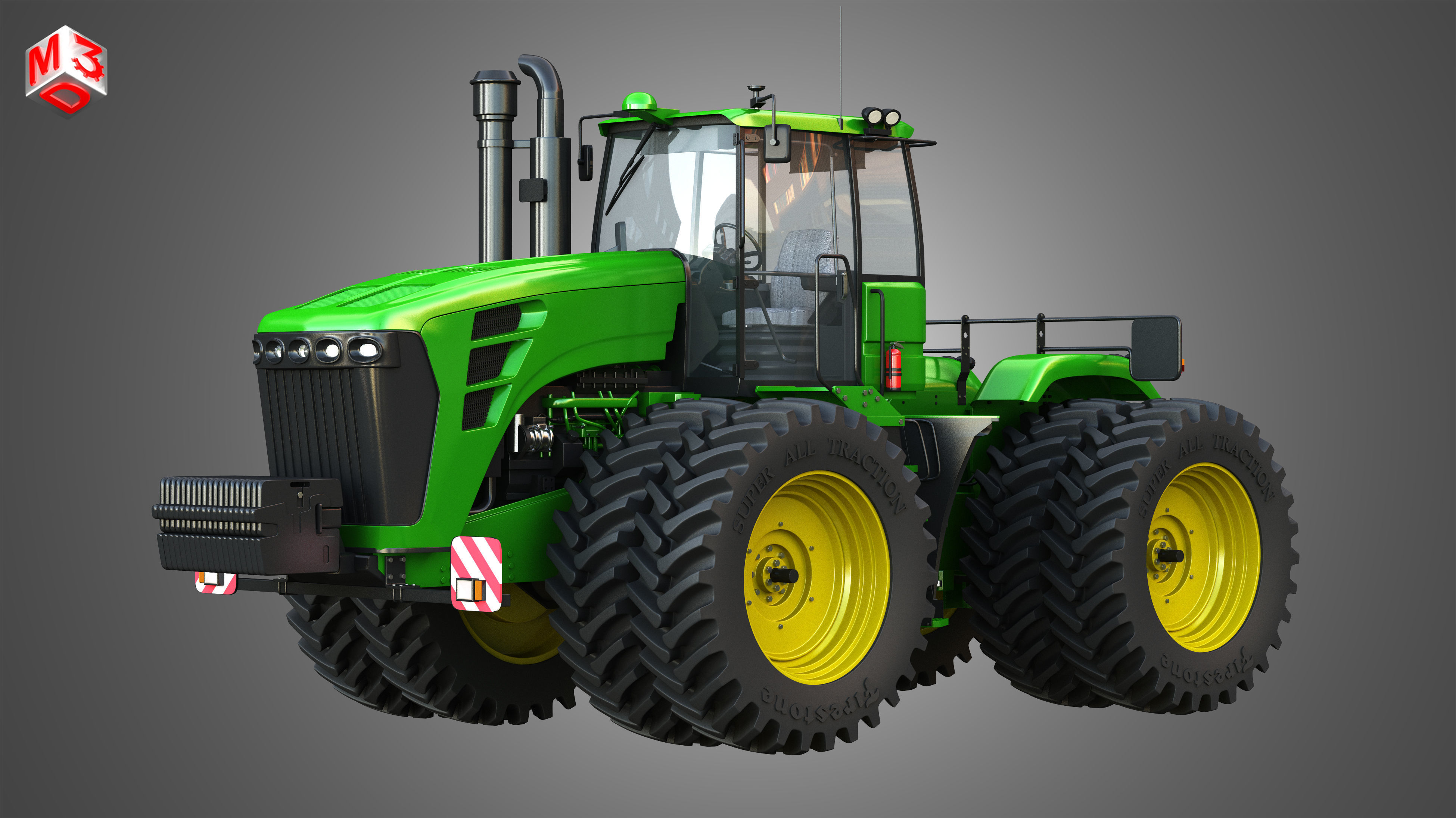 JD - 9230 Articulated Tractor