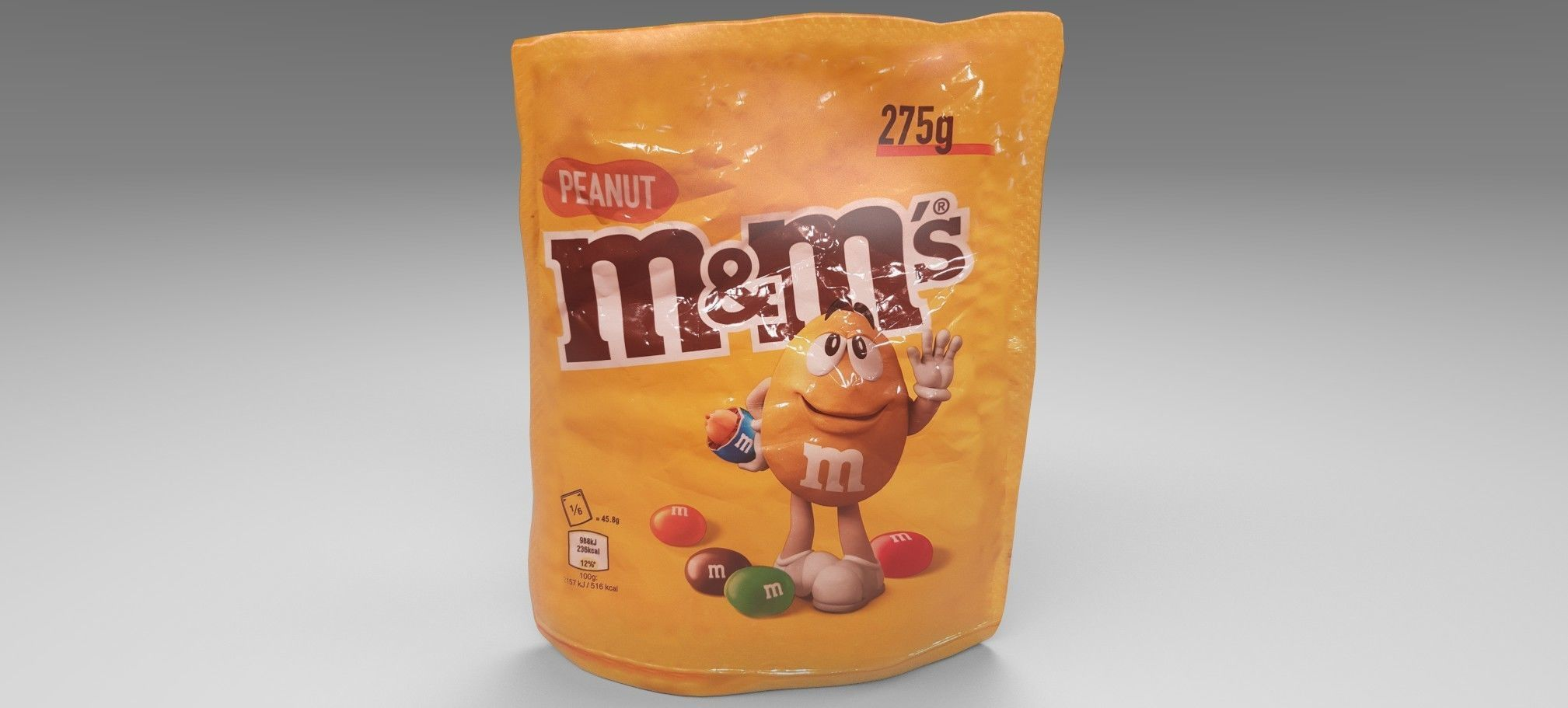 M and M s 3D model