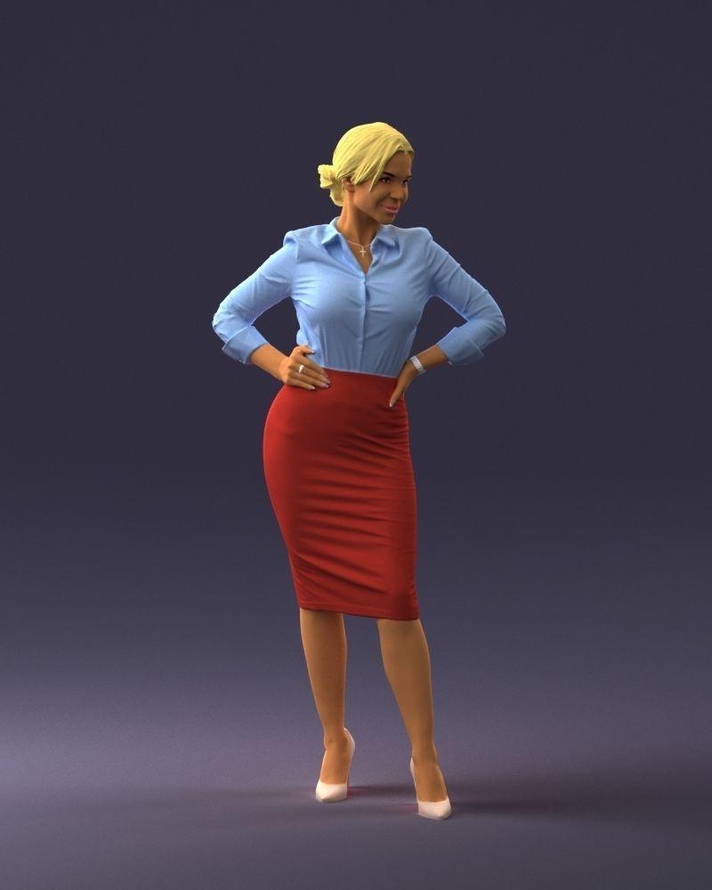 Beautiful woman 0822 3D Print Ready