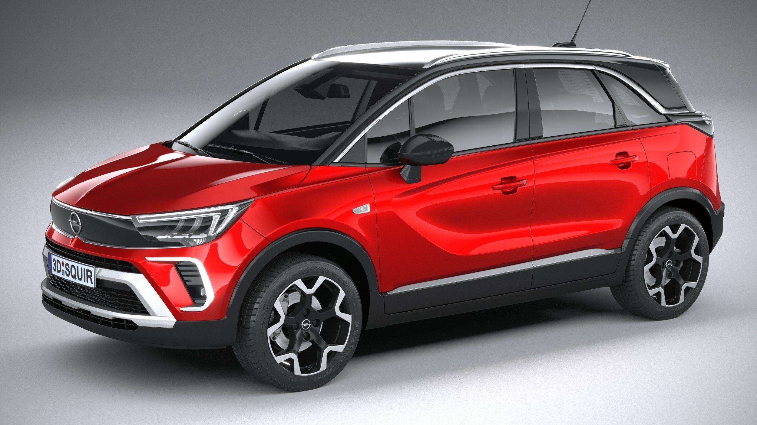 Opel Crossland 2021 3D model   CGTrader