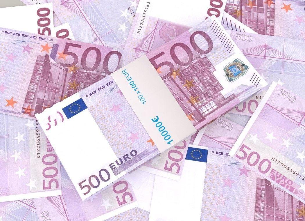 500 euro banknote packs