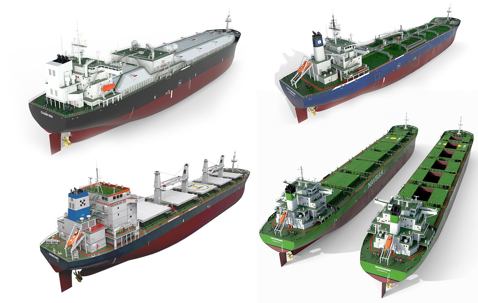 Ships collection 04