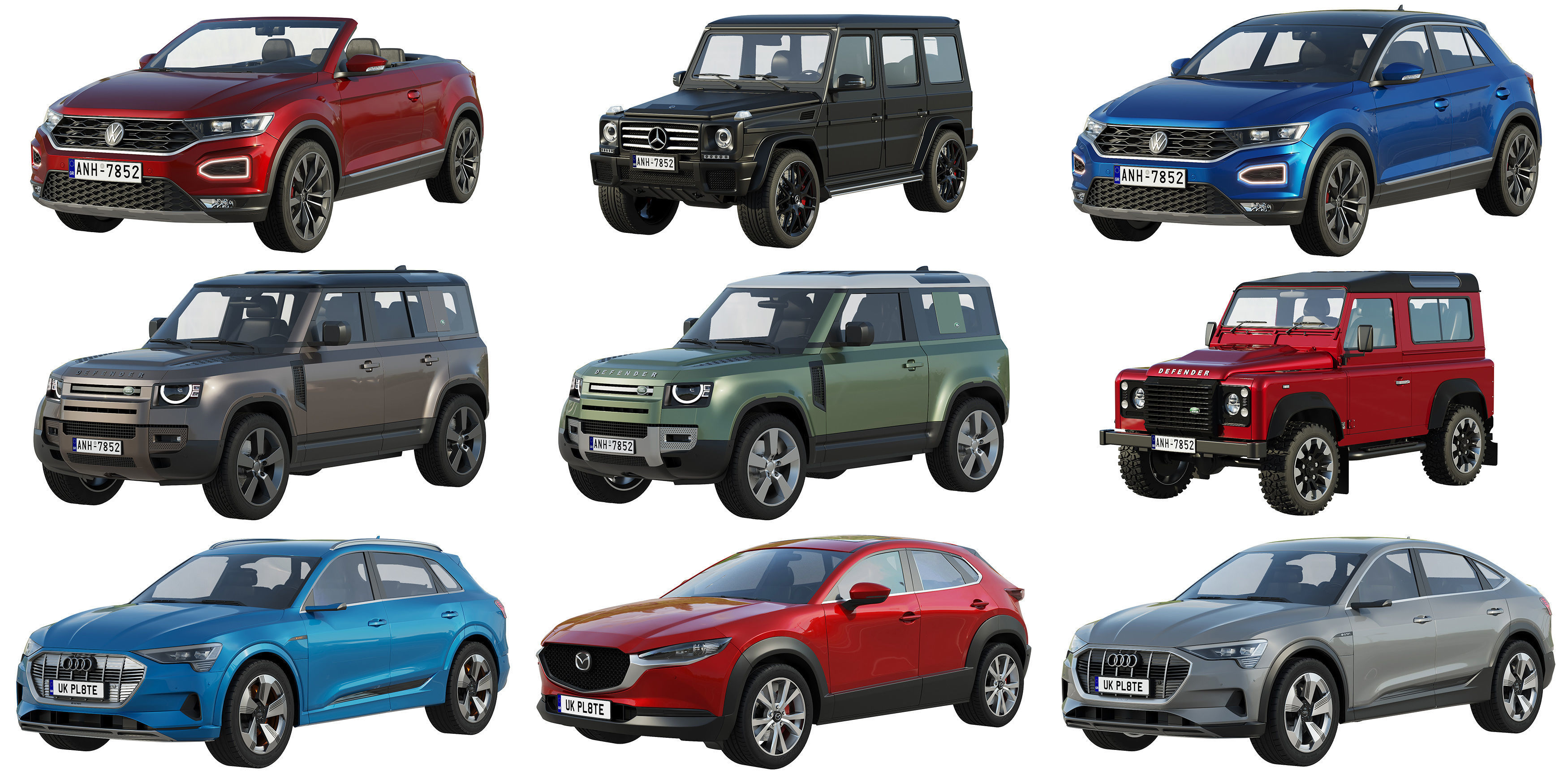 HQ SUV collection