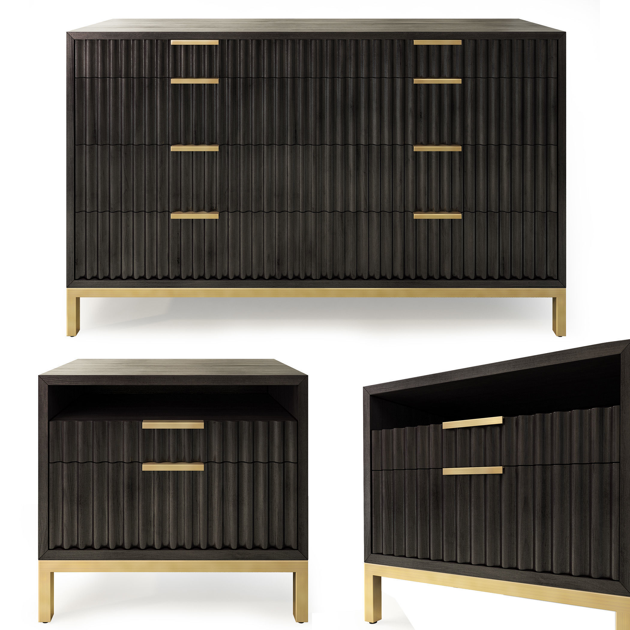 Dresser nightstand by Joss and Main Holford
