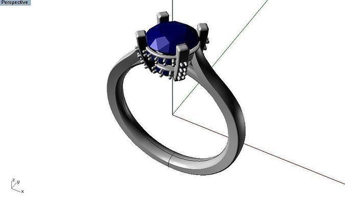 16 - diamond ring