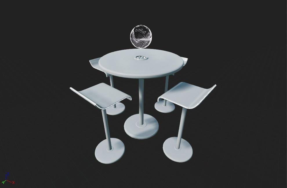 Futuristic Table Set