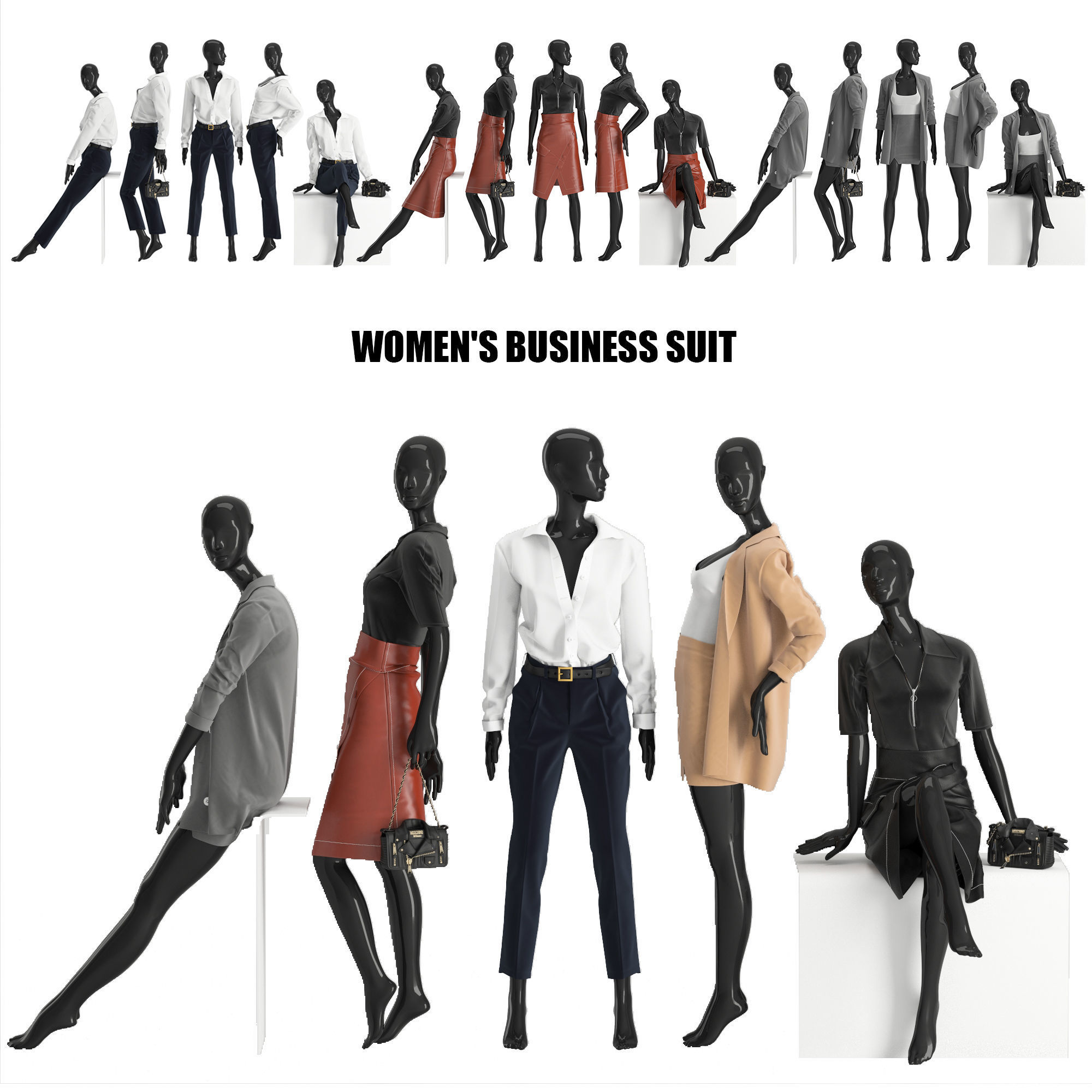 womens business suits