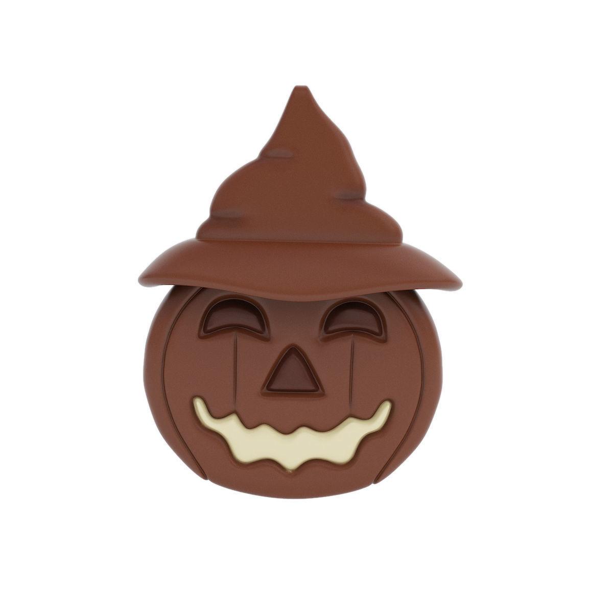 Halloween chocolate figurine with hat