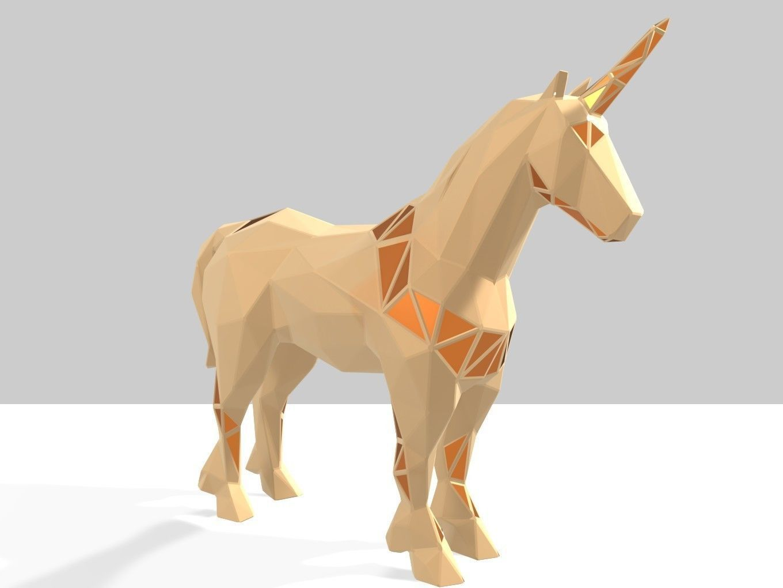 Polygonal Unicorn Parametric