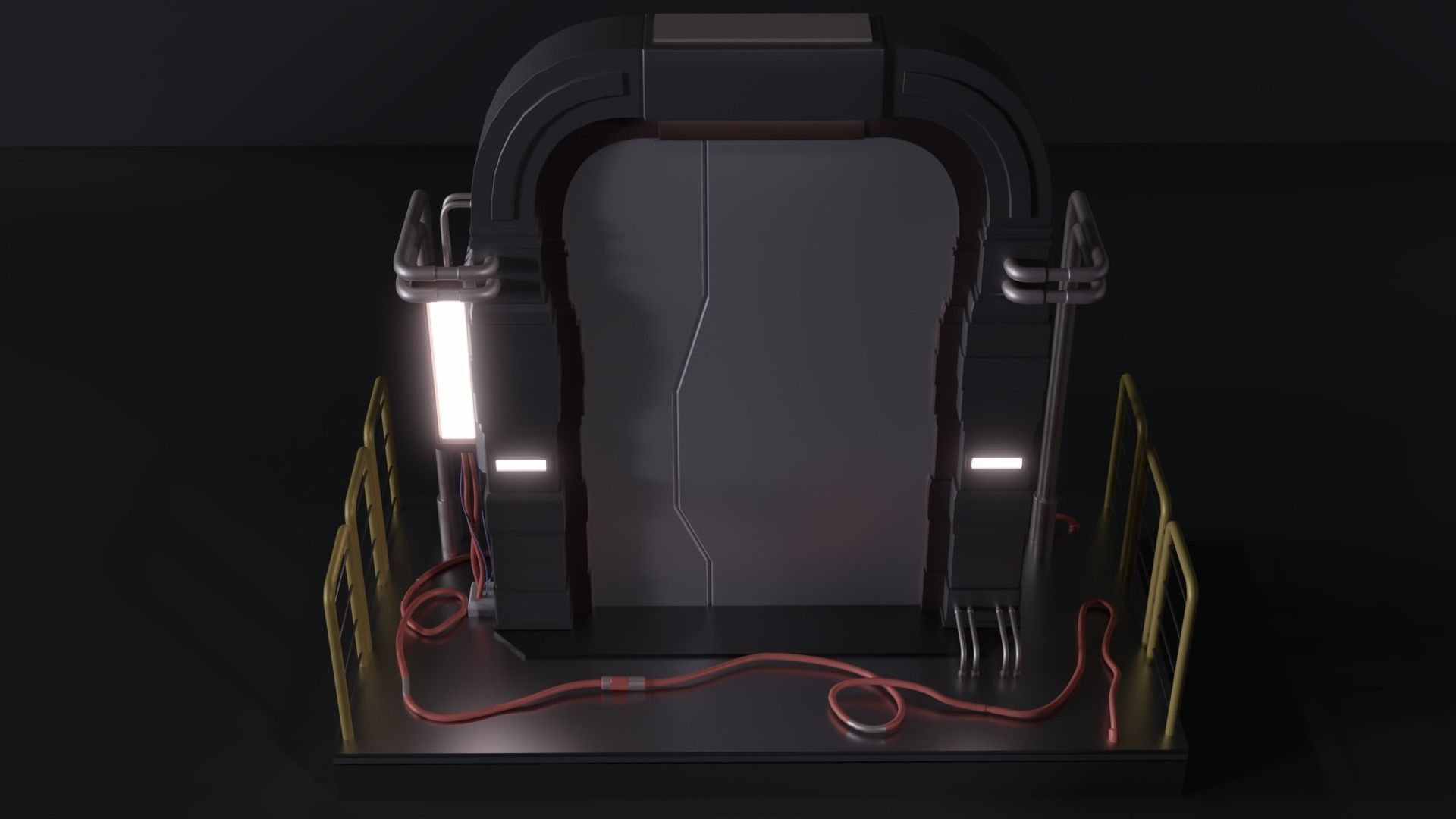 Scifi Door