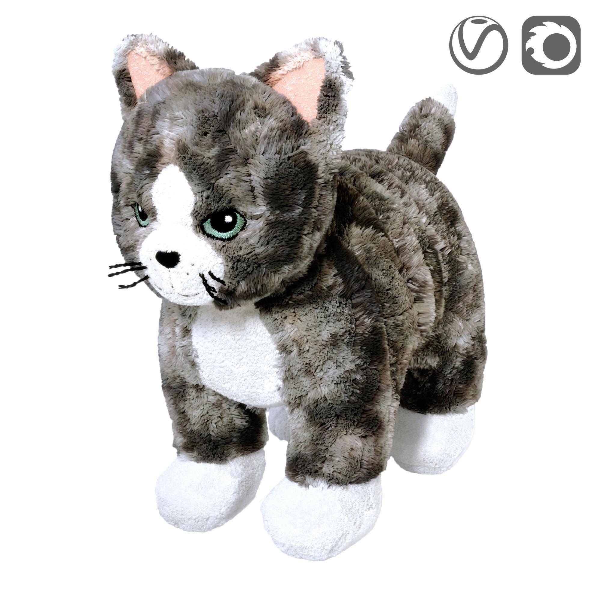 LILLEPLUTT Soft toy cat