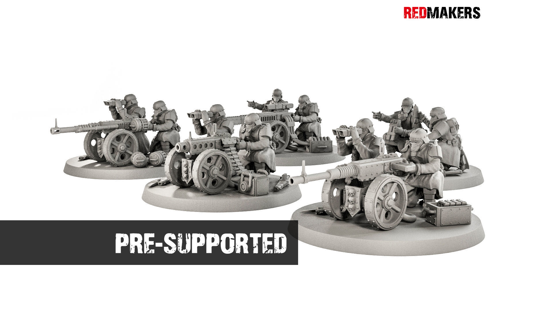 Death squad of Imperial force Heavy support
