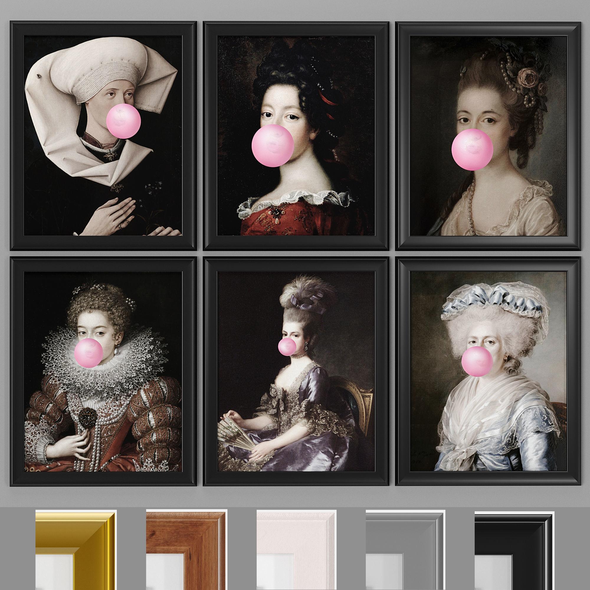 Art Frams 35- Bubblegum Canvas print