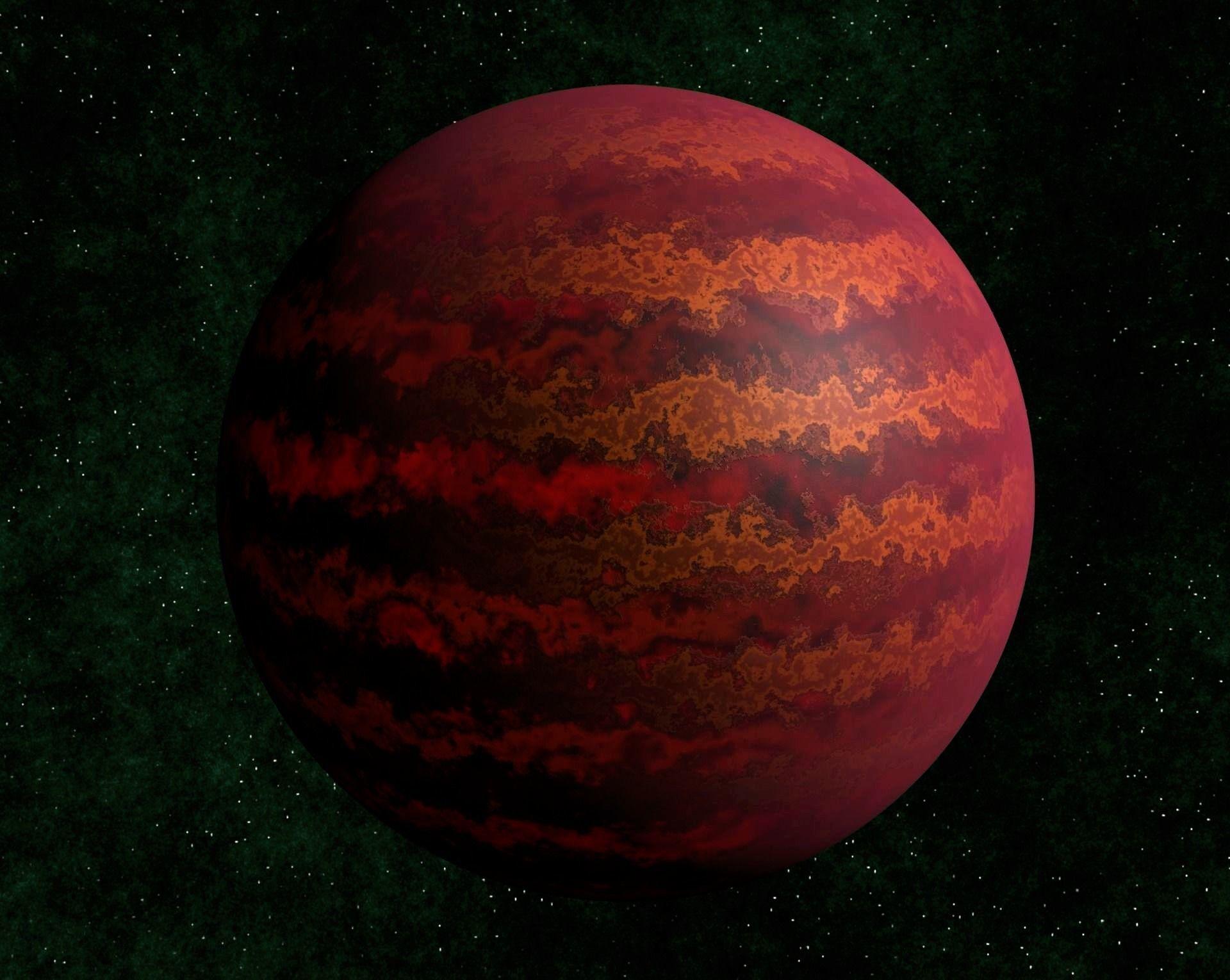 Brown dwarf star 1