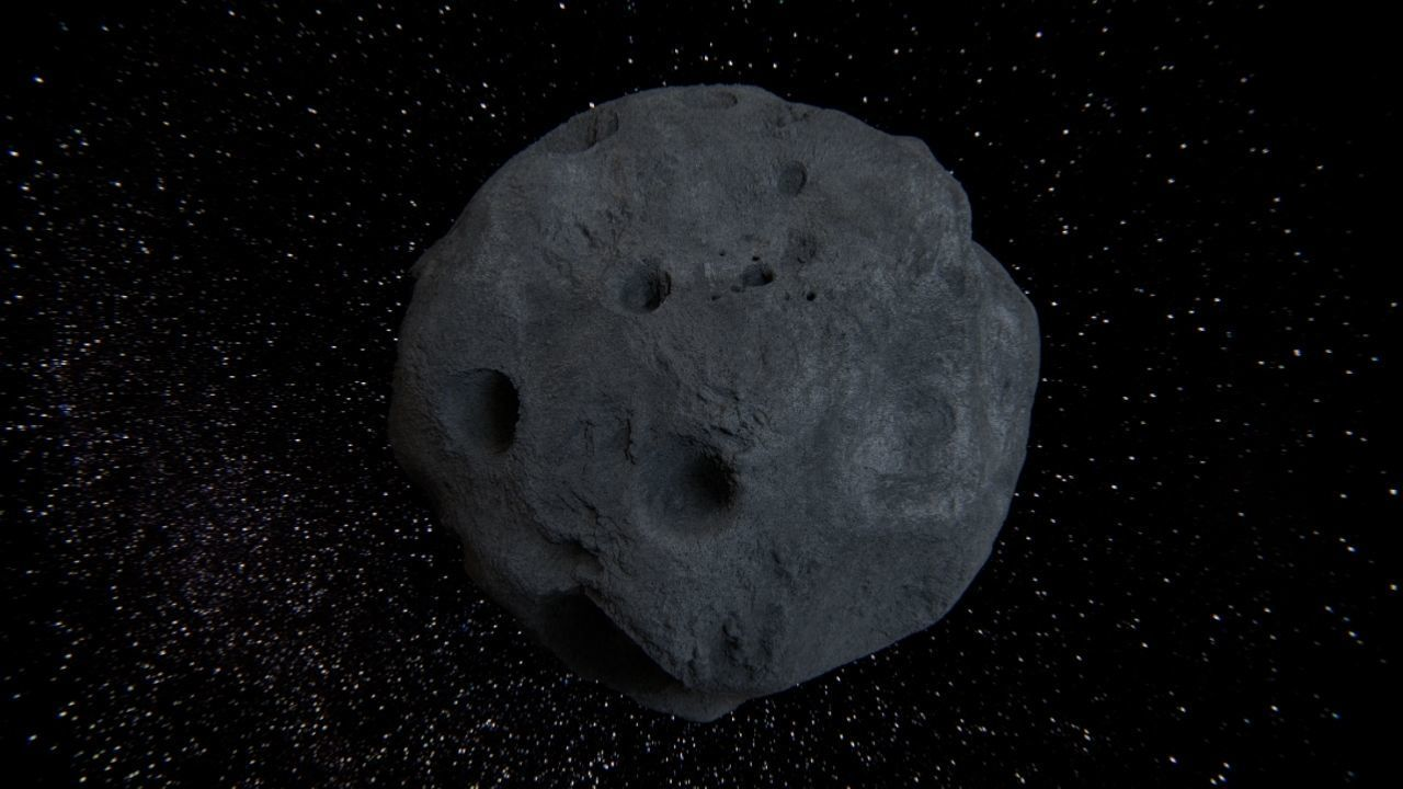 Detailed asteroid