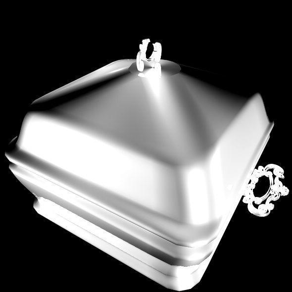 Silver Serving Bowl
