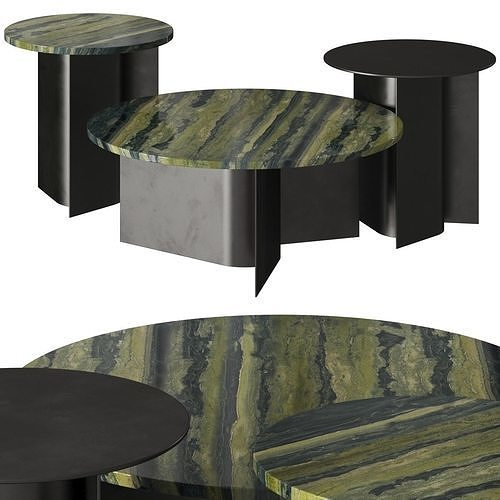 Ross Gardam Breeze Coffee and Side Tables