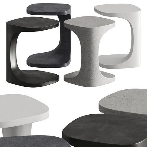 Kristalia Font Side and Coffee Tables