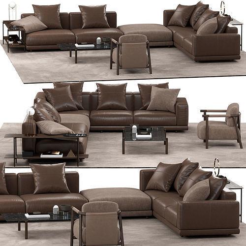 Ditreitalia NEVYLL sofa NATHY armchair ERYS table TONDINA lamp