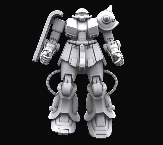 Gundam mobile suit MS MS06FZ model