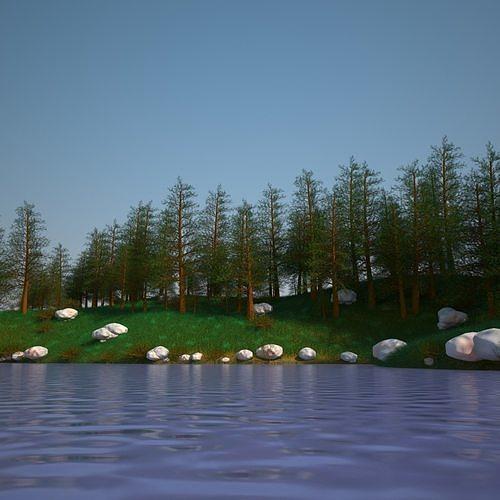 Landscape Model 02
