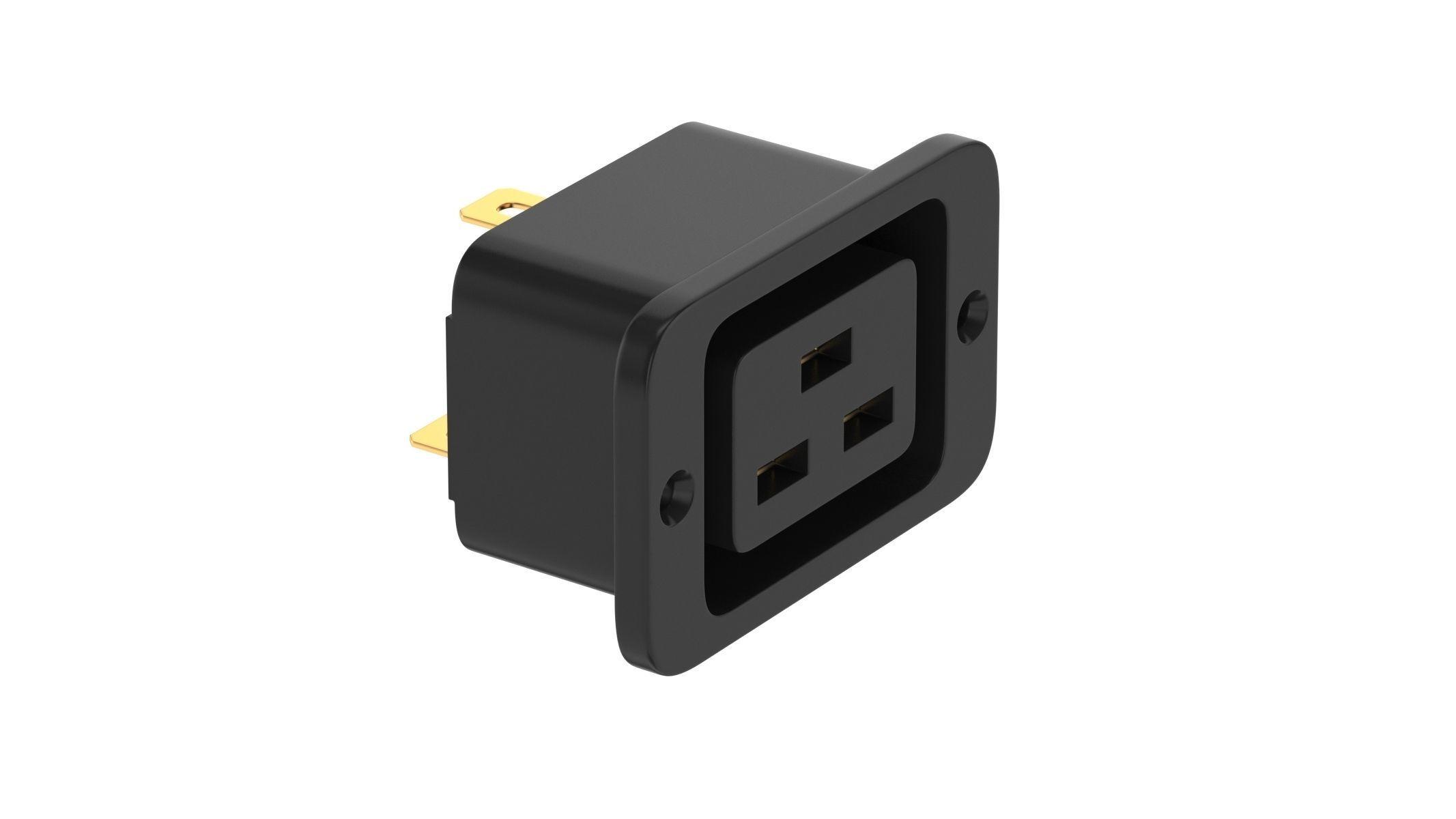 IEC 320 C19 Socket Module
