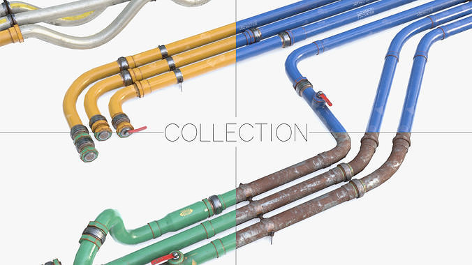Modular Pipes - Industrial Collection