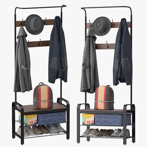 Sunnyglade Vintage Coat Rack