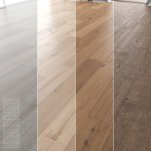 Wood Floor Set 04