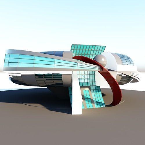 Science Fiction Building