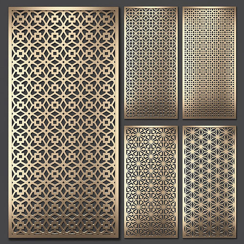 Decorative panel set 73