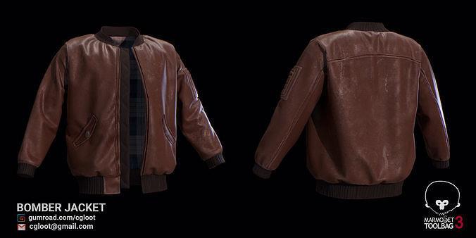 Bomber Jacket for Marvelous Designer