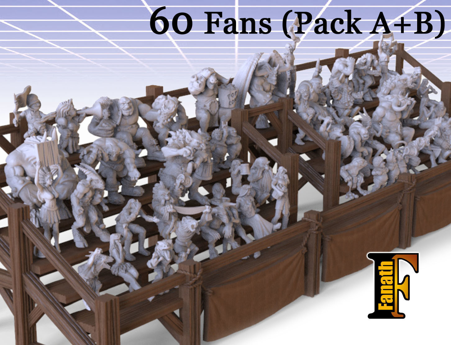 Fans Full Pack - Pack A and B