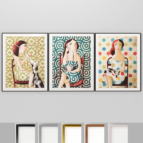 Art Frams 48- Women in chairs