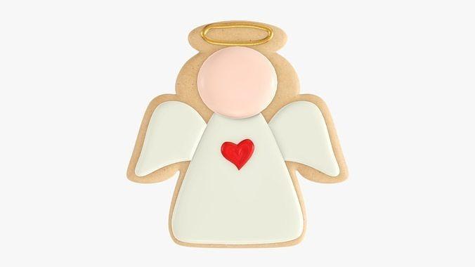 Cookie Christmas angel